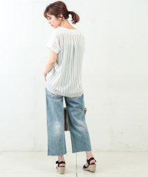 NICE CLAUP OUTLET/【natural couture】異素材ビックゆるTシャツ/501894588