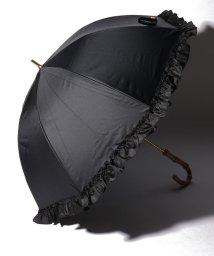pink trick/完全遮光 晴雨兼用 長傘 フリル 遮光率100% 遮蔽率100% 1級遮光 遮熱 軽量 UVカット/501896949