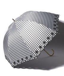 pink trick/完全遮光 晴雨兼用 長傘 フラワー 遮光率100% 遮蔽率100% 1級遮光 遮熱 軽量 UVカット/501896950