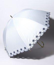 pink trick/完全遮光 晴雨兼用 長傘 フラワー 遮光率100% 遮蔽率100% 1級遮光 遮熱 軽量 UVカット/501896951