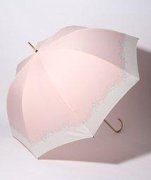 pink trick/BE SUNNY ビーサニー 深張ジャンプ傘 長傘 フラワークラウン  (晴雨兼用 UVカット 紫外線カット 耐風 軽量 撥水)/501896971