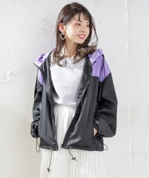 NICE CLAUP OUTLET/【OUTLET】配色マンパ/501897699