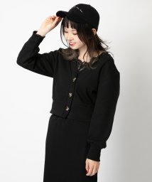 NICE CLAUP OUTLET/【OUTLET】ワッフルカーデ/501897712
