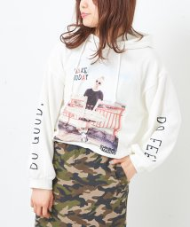 NICE CLAUP OUTLET/【OUTLET】転写パーカー/501897732