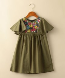 green label relaxing (Kids)/【キッズ】刺しゅうワンピース/501904285