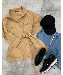 Re:EDIT/ツイルミリタリーシャツジャケット/501905972