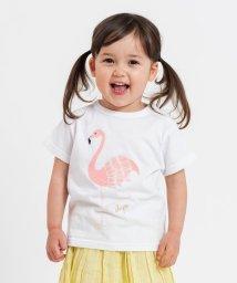 SHIPS KIDS/SHIPS KIDS:フラミンゴ TEE(80~90cm)/501906380