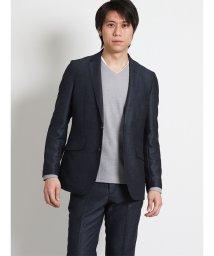 TAKA-Q/レノマ オム/renoma HOMME メランジカラミ織 セットアップ2釦ジャケット/501905286