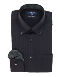 TAKA-Q/形態安定スリムフィットボタンダウン長袖ビジネスドレスシャツ/501905492