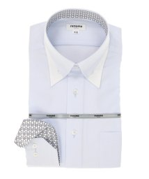 TAKA-Q/形態安定レギュラーフィット ドゥエボットーニボタンダウン長袖ビジネスドレスシャツ/501905542