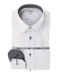 TAKA-Q/形態安定レギュラーフィット ドゥエボットーニスナップダウン長袖ビジネスドレスシャツ/501905543