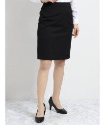 m.f.editorial/2WAYストレッチウォッシャブル セットアップタイトスカート 黒/501905773