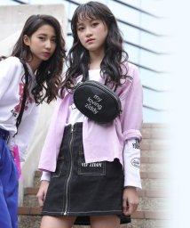 ZIDDY/【カタログ掲載】ストレッチツイル配色ステッチスカート/501909584