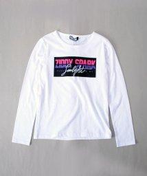 ZIDDY/【カタログ掲載】天竺ロゴプリント長袖Tシャツ/501909598