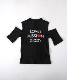ZIDDY/【カタログ掲載】肩あきリブカットソーTシャツ/501909605