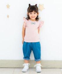birthday party/リボン袖フリルTシャツ(100cm~130cm)/501909700