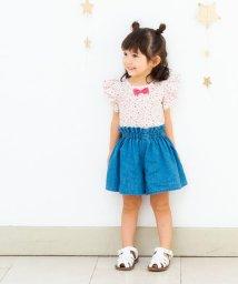 birthday party/小花柄袖フリルTシャツ(100~130cm)/501909705