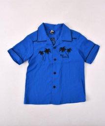 RAD CUSTOM/【カタログ掲載】レーヨンパイピング開襟シャツ/501910104
