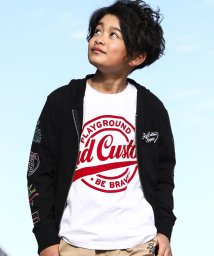 RAD CUSTOM/【カタログ掲載】【ニコプチ掲載】アメカジフロッキープリントTシャツ/501910123
