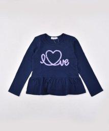 SLAP SLIP/天竺チュール刺繍Tシャツ/501911323