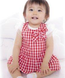 e-baby/ブロードチェック柄セットアップ/501911480