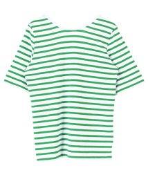 titivate/バックラウンドボーダーカットソーTシャツ/501913266