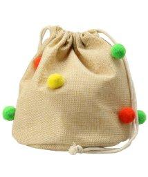 branshes/ボンテン付き巾着バッグ/501913305