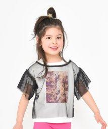 RADCHAP/チュール重ねTシャツ/501913312