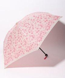 LANVIN en Bleu(umbrella)/LANVIN en Blue 婦人 ミニ傘 【軽量】 サテン プリント/501913600