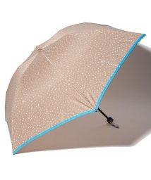 LANVIN en Bleu(umbrella)/LANVIN en Blue 婦人 ミニ傘 【軽量】 サテン プリント ドット/501913601