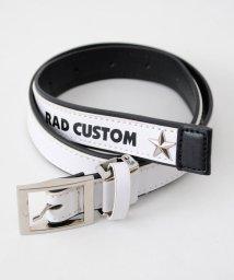 RAD CUSTOM/合皮配色スタッズベルト/501916904