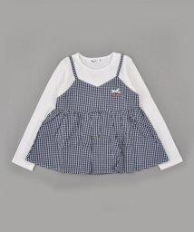 Noeil aime BeBe/【カタログ掲載】天竺キャミレイヤード風Tシャツ/501919353