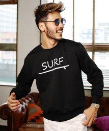 JIGGYS SHOP/「SURF」ロゴ裏毛トレーナー / スウェット トレーナー メンズ 長袖 おしゃれ ブランド スウェットトレーナー トップス/501919406