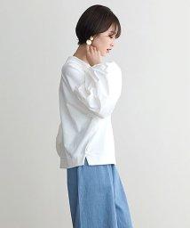 HAPPY EXP/バルーン袖異素材スウェット/501919845