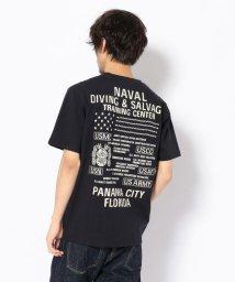 AVIREX/刺繍 Tシャツ ダイビング&サルベージ/EMB CREW NECK T-SHIRT DIVING & SALVAGE/501919933