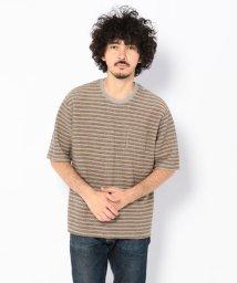 UNCUT BOUND/niche.(ニッチ) Comodo mix ボーダー Tシャツ/501920191