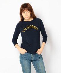 UNCUT BOUND/七分袖Tシャツ CALIFORNIA /Rinajour(リナジュール)/501920414