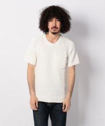 UNCUT BOUND/SS KNIT ニットTシャツ /BACK HEAD(バックヘッド)/501920504