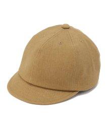UNCUT BOUND/MIGHTY SHINE(マイティシャイン) BRIDGE CAP TWILL ツイルブリッジキャップ/501920641