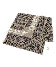 UNCUT BOUND/YARN&COPPER(ヤーン カッパー)  windsor flock スカーフ真鍮リング付/501920962