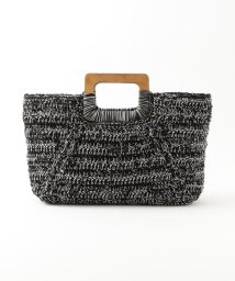 LE JOUR/【CACHELLIE】WOOD HANDLE KNIT TOTE/501921537
