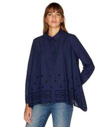 BENETTON (women)/パネルボーラー刺繍シャツ・ブラウス/501886613