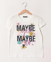 SISLEY YOUNG/グリッタープリント半袖Tシャツ・カットソー/501886682