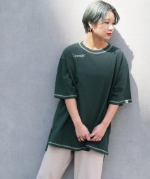 179/WG/ロゴ刺繍ビッグTシャツ/501896295