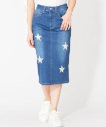 en recre/【ETOILE SIGNE】星柄刺繍タイトスカート/501903090