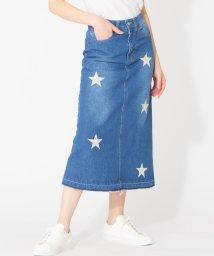 en recre/【ETOILE SIGNE】星刺繍タイトスカート/501903092