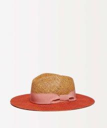 SISLEY/配色ペーパーヤーンハット・帽子/501906010