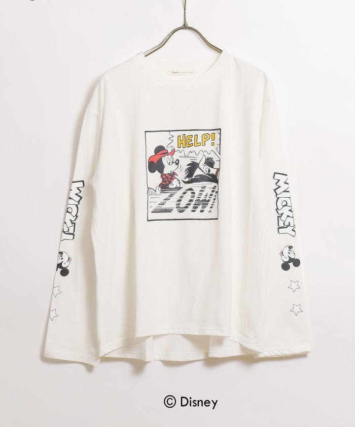 DISNEY−COLLECTION− COWBOYTシャツ