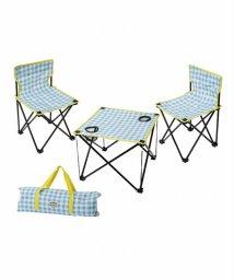 En Fance/マミーフィールド テーブル&チェアセット ギンガムチェック/501913497