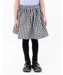 koe kids/ギンガムチェックギャザースカート/501913591